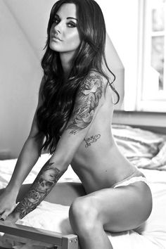 50 Awesome Examples of Sleeve Tattoos for Women/ Lauren Suicide
