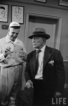 The Silent Partner set 1955 - Director George Marshall and Buster