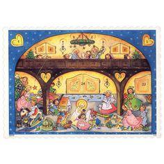 "The Angels Gallery Advent Calendar ~ 8-1/4"" x 5-3/4"""