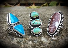 Power of 3 ~ avail soon on Etsy, shop name: Silver Raven Studio.
