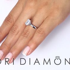 1.29 Ct. D-IF GIA Certified Emerald Cut Diamond Engagement Ring Set in Platinum - Style # ER-1222 - $10,800 #ring #engagement #rings #jewelry #bridal #diamond #diamonds #vintagerings #halo #pavehalo #engagementring #lioridiamonds #platinum #emeraldcut #emeraldcutdiamond