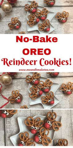 These cute Reindeer Oreo Cookies are easy to make, are no-bake and no faff. You only need a few ingredients too! Take a look at the step by step recipe in this Christmas blog post. Perfect for parties or keeping kids entertained on the long winter school holidays!