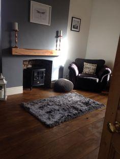 Grey Living Room Grey, Shag Rug, Rugs, Home Decor, Shaggy Rug, Farmhouse Rugs, Decoration Home, Grey Lounge, Room Decor