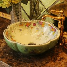Hand Painted Porcelain Sinks Promotion-Shop for Promotional Hand ...