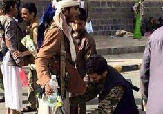 اخبار يمنية عاجلة - صفحة غربية شهيرة تسخر من الإنقلاب الحوثي