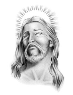 jesus tattoo drawing drawings christ simple religious easy sketches tattoos paintings tattoodaze