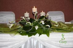Wedding flower decoratins Svadobná kvetinová výzdoba