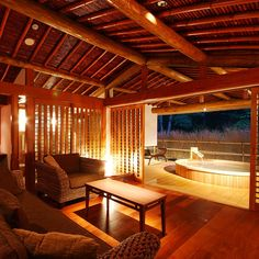 Japanese Bath, Japanese Modern, Japanese House, Dojo, Japanese Architecture, Architecture Design, Japanese Hot Springs, Architectural Lighting Design, Japanese Interior Design