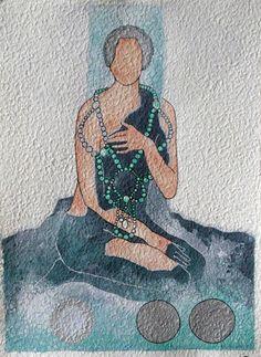 "Aquarelle ""Vanity venus"" 2012"