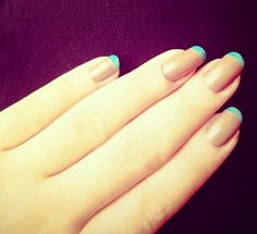 I love French Nail <3