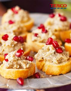 Easy recipes for stylish Christmas party nibbles | Tesco