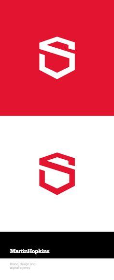 © Martin Hopkins Design, Cardiff - S Logo Branding Identity S Logo Design, Web Design Agency, Box Design, Identity Design, Brand Identity, Graphic Design, Logos, Logo Branding, Branding Ideas
