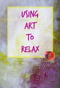 Using art to relax is something we all do as kids naturally. See how one slightl… Using art to relax is something we all do as kids naturally. See how one slightly anxious artist uses art to let go. Art Therapy Projects, Art Therapy Activities, Art Projects, Play Therapy, Therapy Ideas, Speech Therapy, Art Journal Prompts, Art Journal Pages, Art Journaling