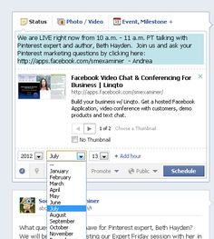 Did you know that Facebook allows to schedule your posts? Here are 8 tips for using this feature.