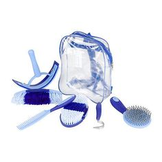 Grooming Totes 183401: Sweet Grooming Set Blue/Light Blue BUY IT NOW ONLY: $32.9
