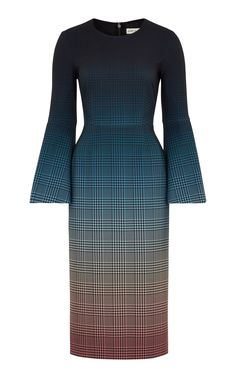 Sunday Printed Midi Dress by Mary Katrantzou Sunday Dress, Jacquard Dress, Fabulous Dresses, Professional Outfits, Stylish Outfits, Girly Outfits, Day Dresses, Clothes For Women, Work Clothes