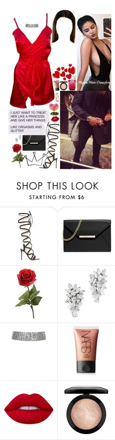"""""""Knew that ass was real, when I hit it, it bounce back."""" by allie-blair ❤ liked on Polyvore featuring Gianvito Rossi, Edition, MICHAEL Michael Kors, NARS Cosmetics, Lime Crime and MAC Cosmetics"""