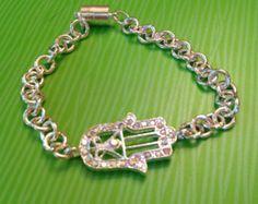 Crystal Hansa Bracelet - Edit Listing - Etsy