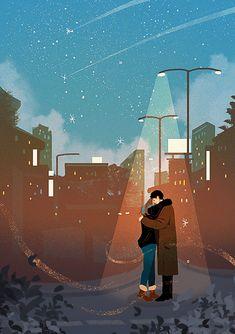 Cute Couple Drawings, Cute Couple Art, Girly Drawings, Couple Illustration, Illustration Art, Stock Design, Cover Wattpad, Polo Norte, Cute Love Cartoons