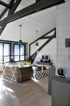gite design en bord de mer binic - Les Maisons de Victoire Location Gite, Bungalow, Loft, Digue, Bed, Design, Inspiration, Furniture, Destinations