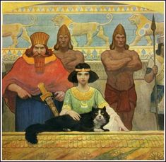 All book illustrations Newell Convers Wyeth работ) Nc Wyeth, Ancient Mesopotamia, True Art, American Artists, Golden Age, Les Oeuvres, Egyptian, Illustrators, Fantasy Art