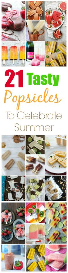 21 Tasty Popsicle Recipes For Summer