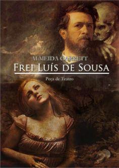 """Capa do livro """"Frei Luís de Sousa"""" de Almeida Garrett."""