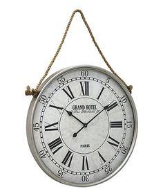 hanging wall clock zulilyfinds