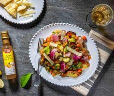 Χειμωνιάτικα ψητά λαχανικά στη λαδόκολλα | Συνταγή | Argiro.gr - Argiro Barbarigou Food Fantasy, Food Categories, Kung Pao Chicken, Pasta Salad, Vegan Recipes, Sweet Home, Healthy Eating, Vegetarian, Ethnic Recipes