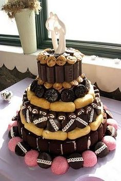 Hostess Cake Wedding Cake