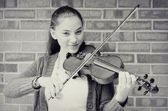 Teen Girl Playing Violin Stock Photo - Image: 69862724