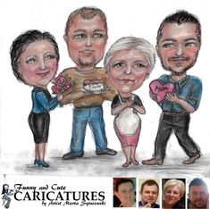 A mother's love will never end; it is there from beginning to end.  Order your own custom caricature portrait call artist Marta Sytniewski 773-574-7767 or email FunnyAndCuteCaricatures@gmail.com  #motherslove #mothersportrait #funnyandcutecaricature  #caricatureportrait #martasytniewski #caricature #cutecaricature #motherlove Mothers Love, Caricatures, Portrait, Funny, Artist, Cute, Movie Posters, Film Poster, Caricature Drawing