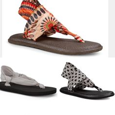 Have you seen these sandals?! The soles are made from yoga mats, they are SO comfortable!! These are only $17.99!!
