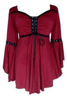 Dare To Wear Victorian Gothic Women's Ophelia Corset Top Burgundy Small Dare to Wear http://www.amazon.com/dp/B00BL1FP98/ref=cm_sw_r_pi_dp_.-Tiub07ZTV7X
