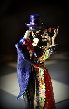 La Catrina fall in love. by el_catrinero, via Flickr