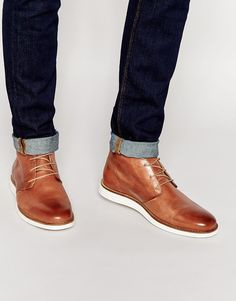 94399f0c5a13 River Island Leather Chukka Boots at asos.com