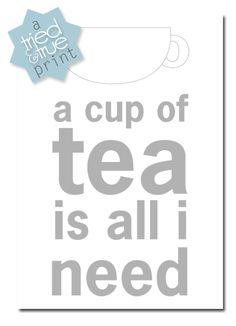 Cup of Tea Print