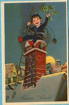 Y7542 Chimney Sweep postcard, 4779-1   eBay
