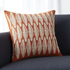 """View larger image of Falvo 18"""" Pillow with Feather-Down Insert"""