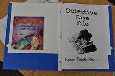 Inside Mystery Unit Folder