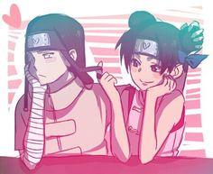 Naruto - Neji and Tenten Otaku Anime, Anime Naruto, Comic Naruto, Naruto Meme, Anime Manga, Naruto Shippuden Sasuke, Tenten Y Neji, Naruhina, Narusasu