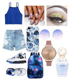 """""""Secretly a mermaid 💖😁"""" by queen406 ❤ liked on Polyvore featuring H&M, rag & bone/JEAN, Skinnydip, Olivia Burton and Marc Jacobs"""