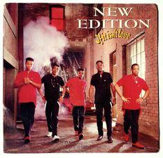 New Edition -  If It Isn't Love 7' Single 45 RPM Vinyl Record, MCA Records, mca-53264, R&B, Pop, Funk, Soul, 1988, Original Pressing