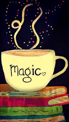 Coffee + a good book = pure magic! #MrCoffee