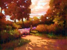 "Homeward Bound by Teresa Saia Pastel ~ 18"" x 24"""