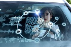 futuristic vehicle and graphical user interface(GUI). Internet of Things. Heads up display(HUD). Photo Composition, Head Up Display, Futuristic Cars, Abstract Images, Photo Illustration, User Interface, Royalty Free Images, Stock Photos, Technology