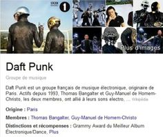 For all the people who dont know Daft Punk. Problem is, its in spanish. Pitty