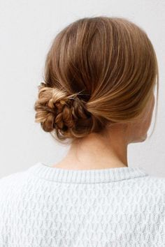 An Easy Braided Hairstyle for Any Occasion