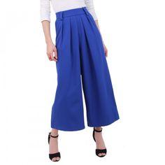 Pantalón Palazo azul