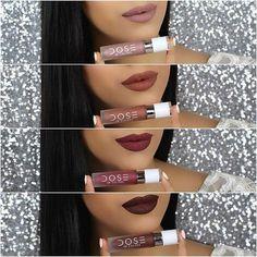 Prueba estos tonos que quedarán perfecto a tu tono de piel #Brunette #Lips #DoseOfColors